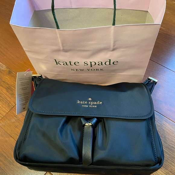 NWT Kate Spade Nylon messenger bag
